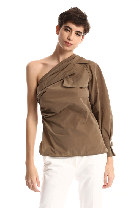Tech taffeta shirt Intrend