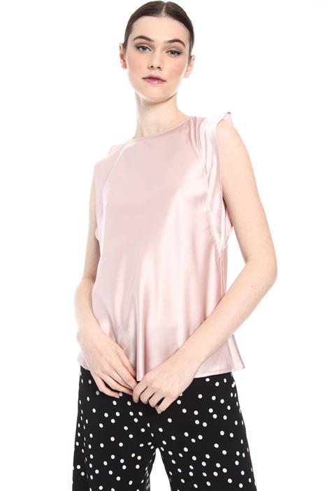 Stretch silk blouse   Intrend
