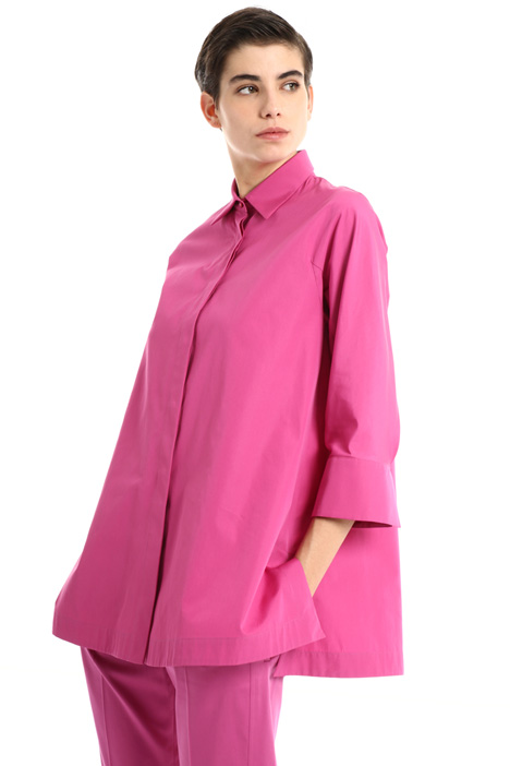 Oversized pure cotton shirt Intrend