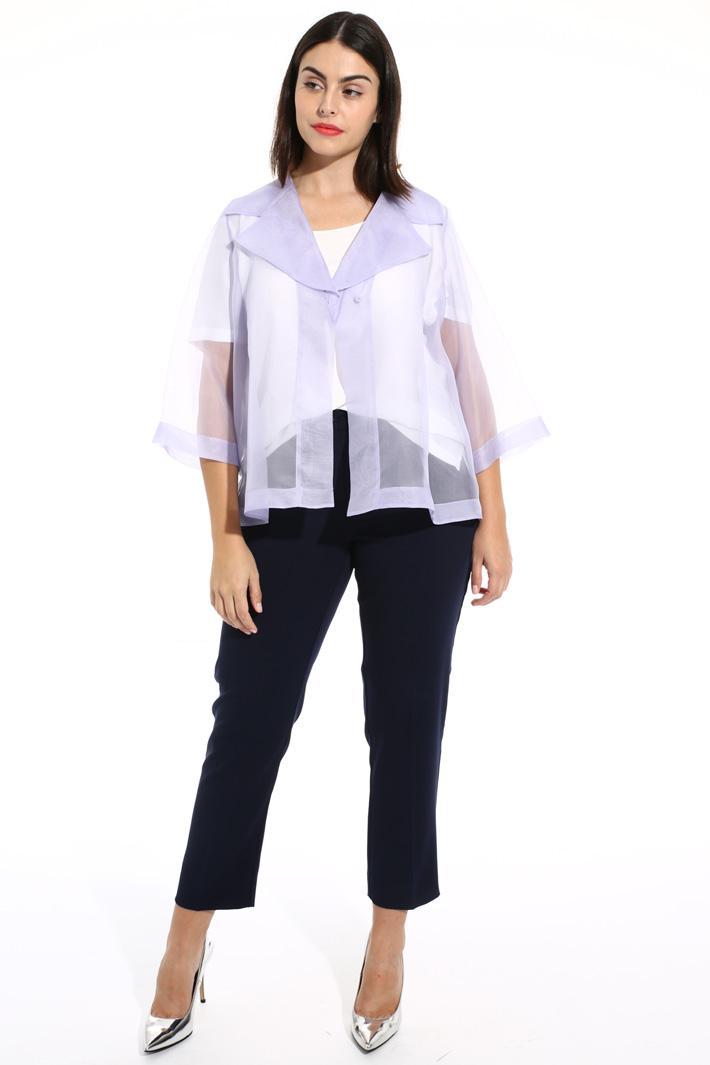 Silk blend top Intrend
