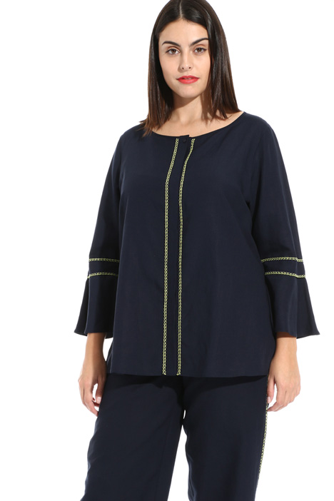 Linen blend tunic Intrend