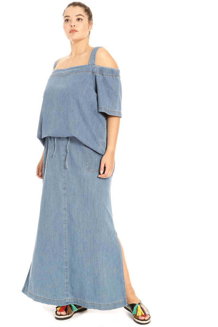 Light denim tunic Intrend