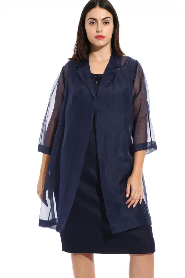 Silk jacket Intrend