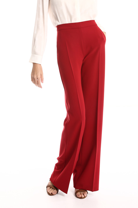 Wide leg cady trousers Intrend
