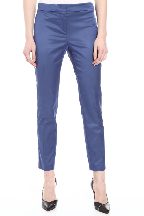 Mixed cotton trousers Intrend