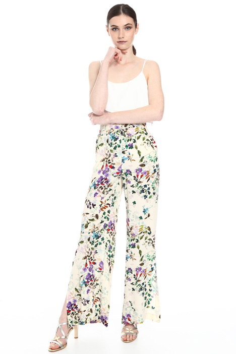 Marocaine crepe trousers   Intrend