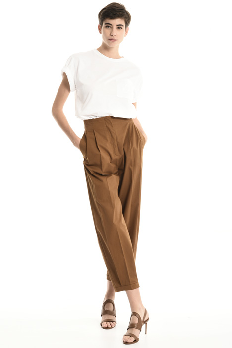 Carrot cotton trousers Intrend