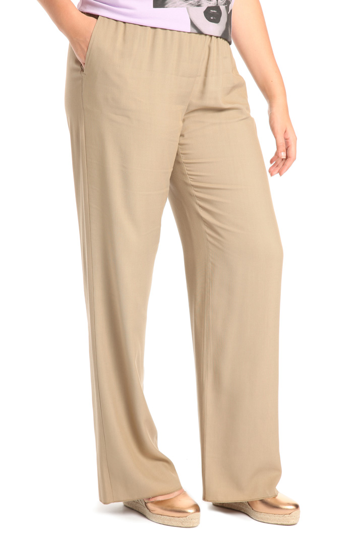 Flared viscose trousers Intrend