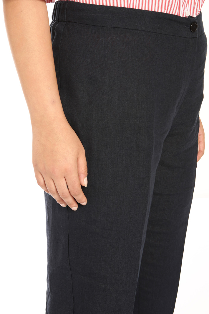 Heavy linen trousers Intrend