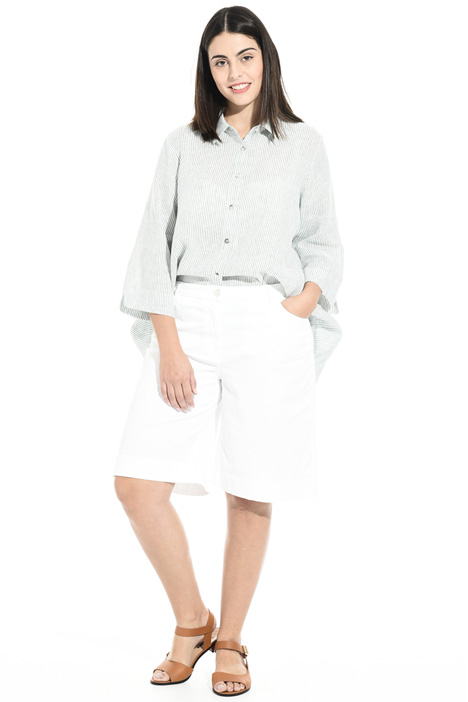 Short trousers in pure cotton  Intrend