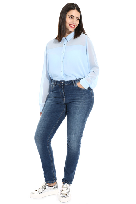 Jeans in puro cotone stretch Intrend