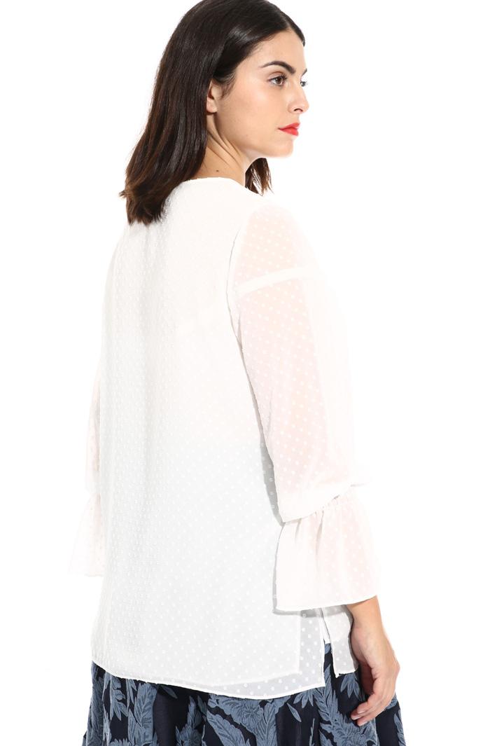 Fil coupé georgette blouse Intrend