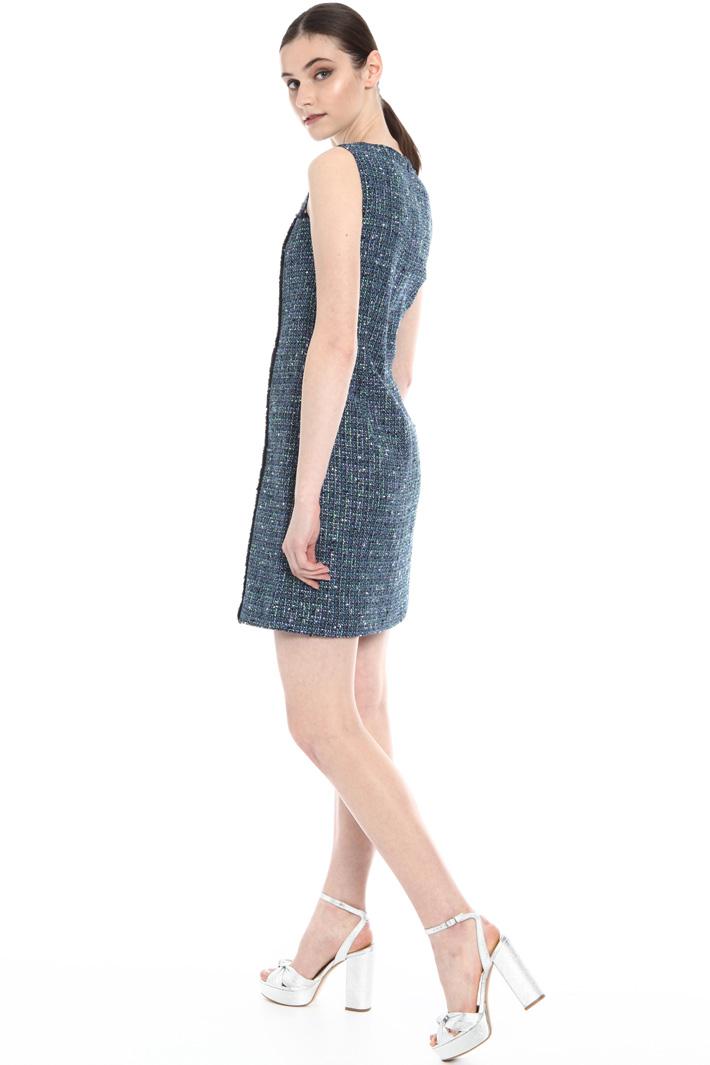 Cotton bouclé dress Intrend