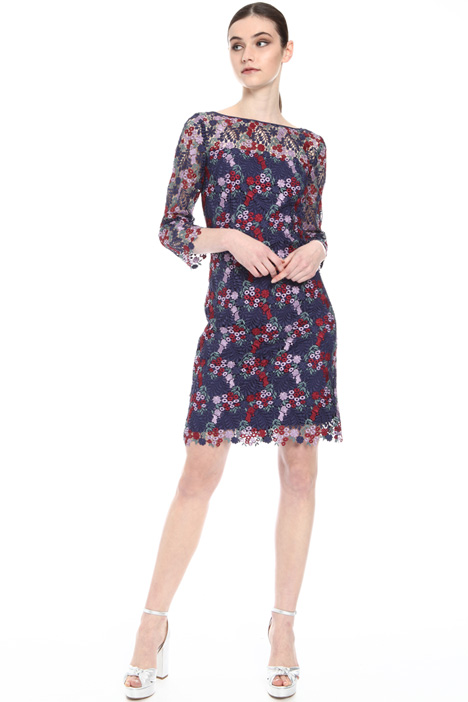 Floral macramé dress Intrend
