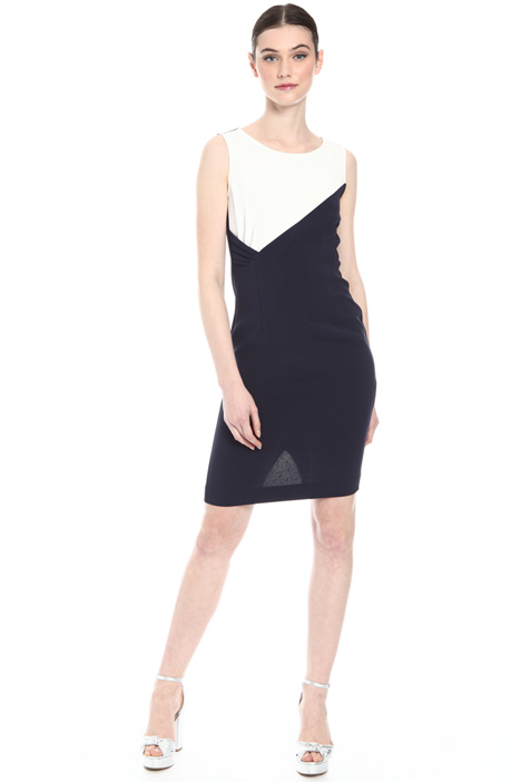 Close-fitting triacetate dress Intrend