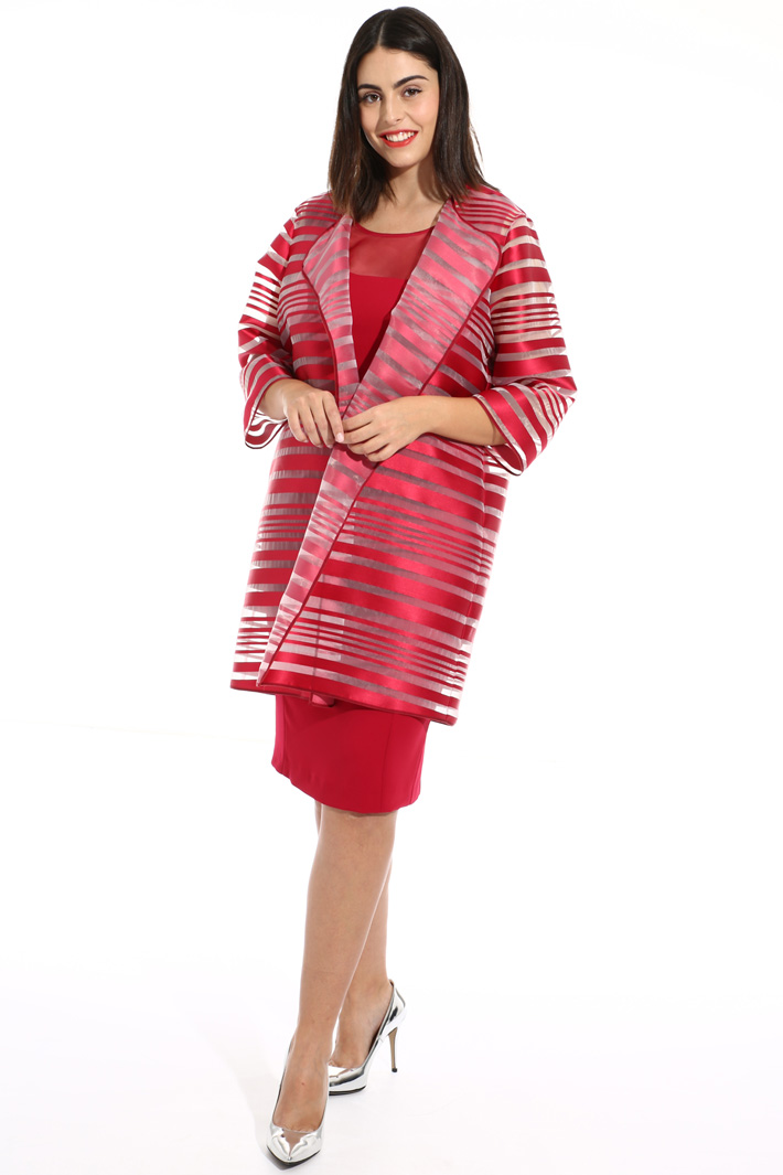 Dress with silk insert Intrend
