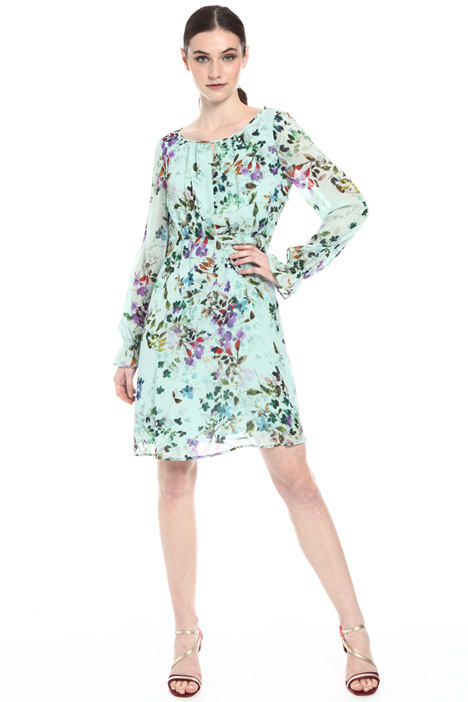 Viscose georgette dress Intrend