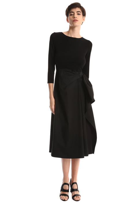 Knot dress in crepe jersey Intrend