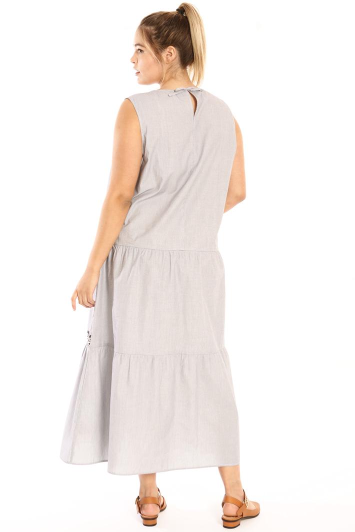 Long cotton dress Intrend