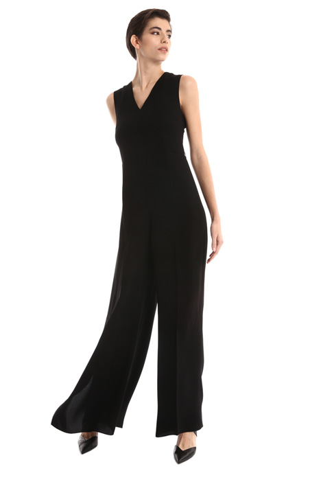 Flounced leg jumpsuit Intrend
