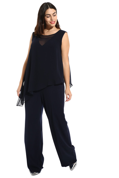 Georgette overlay jumpsuit Intrend