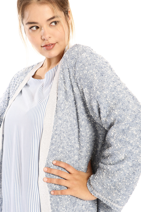 Lurex knitted cardigan Intrend