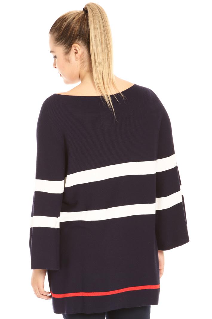Crepe viscose sweater Intrend