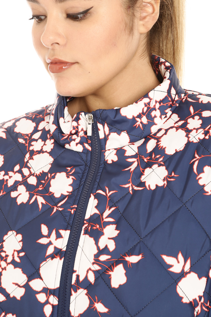 Printed canvas jacket Intrend