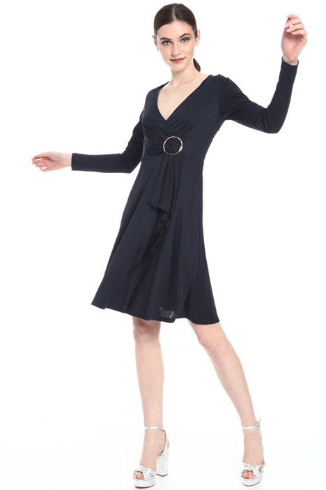 Jersey crepe dress Intrend