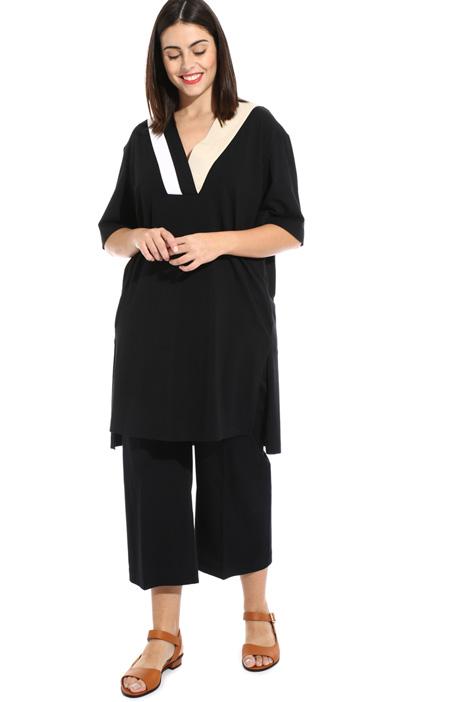 Cotton jersey dress Intrend