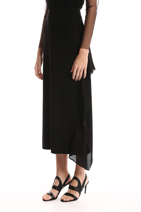 Crepe jersey skirt Intrend