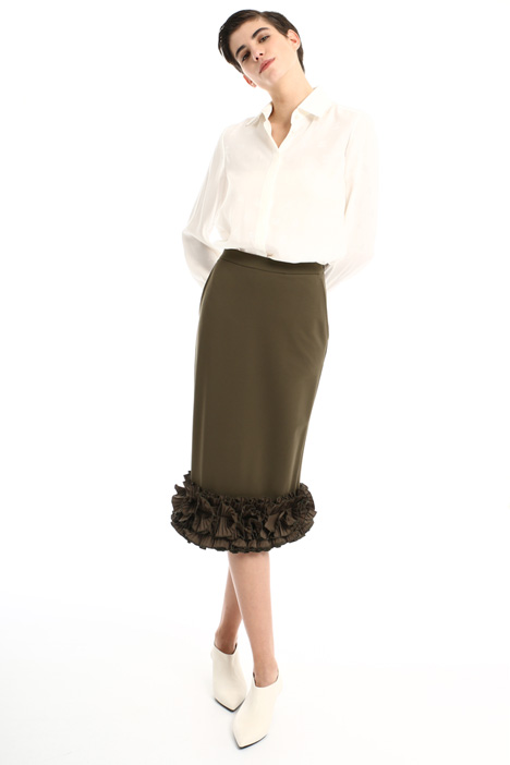 Ruffled bottom skirt Intrend