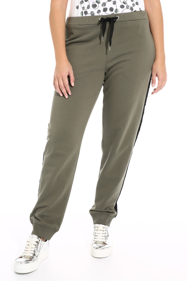 Cotton fleece trousers Intrend