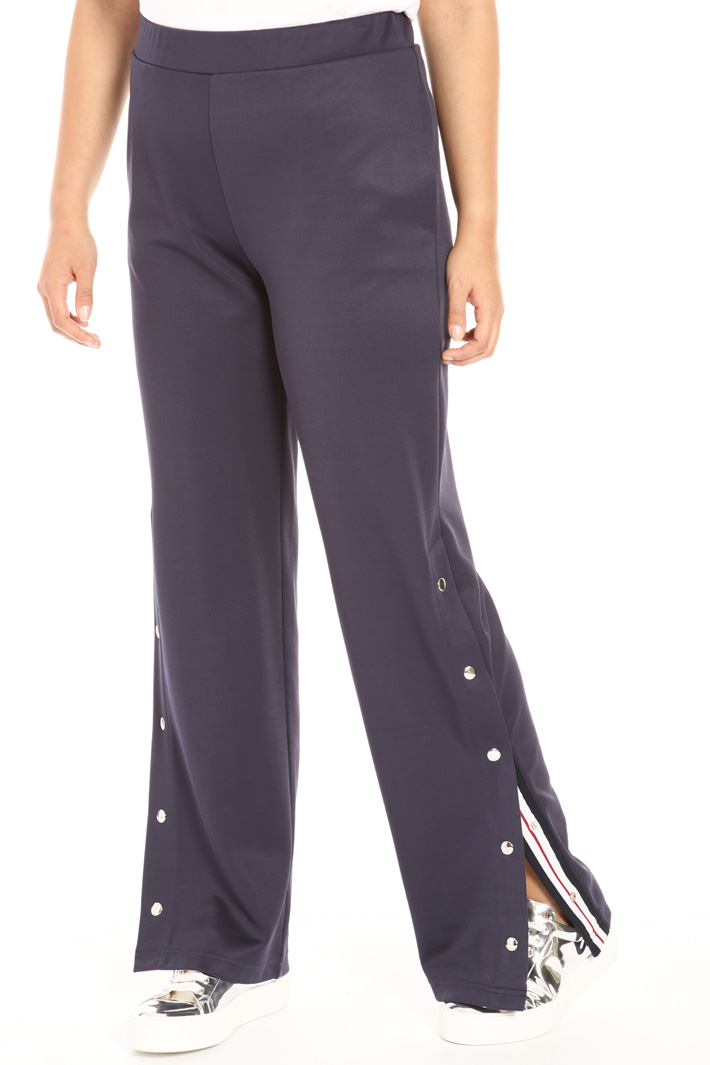 Technical cotton trousers Intrend