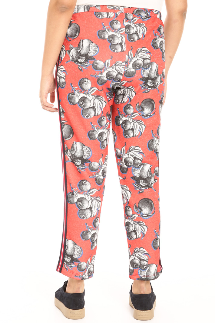 Lurex effect trousers Intrend