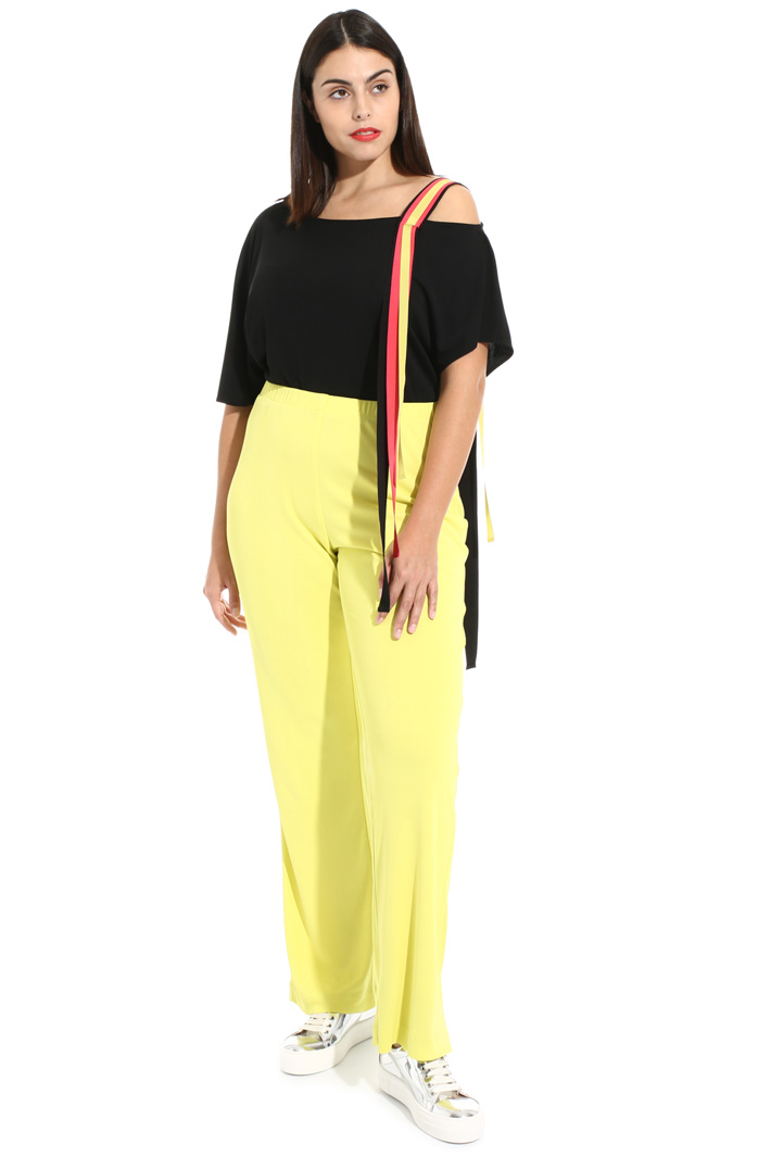 Jersey palazzo trousers Intrend