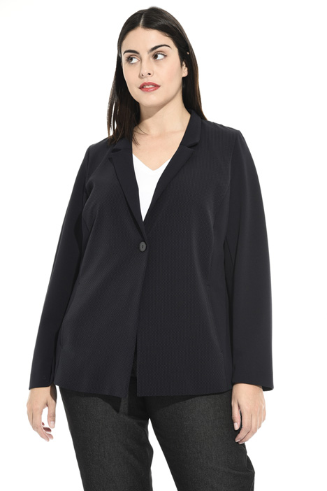 Blazer in scuba crêpe Intrend