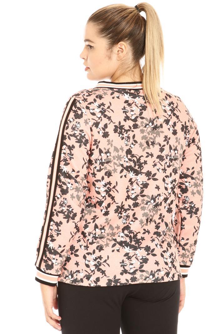 Lurex cotton sweatshirt Intrend