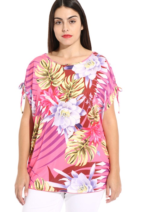 Printed jersey blouse Intrend