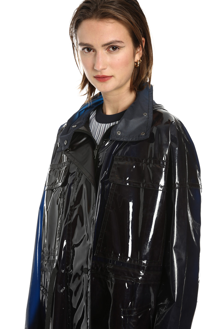 Hooded raincoat Intrend