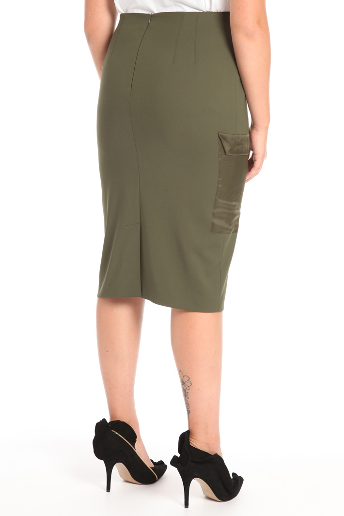 Tube skirt in cotton Intrend
