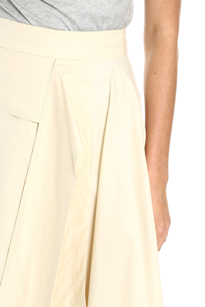 Cotton skirt with panels Intrend