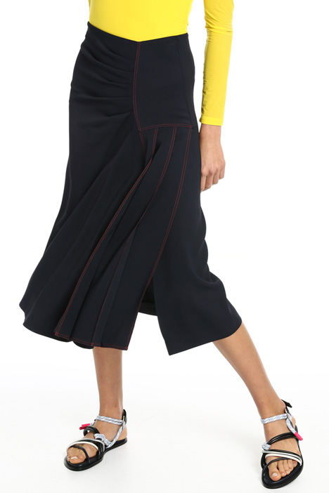 Flared viscose skirt Intrend