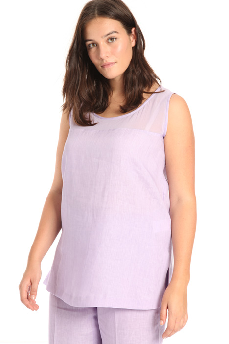 Lightweight linen tunic Intrend