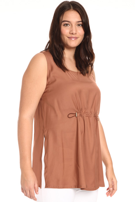 Fluid viscose tunic Intrend