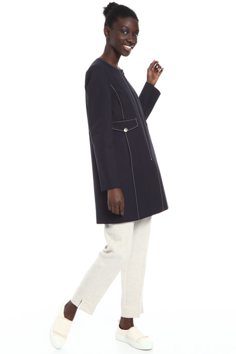 Double cotton duster coat Intrend