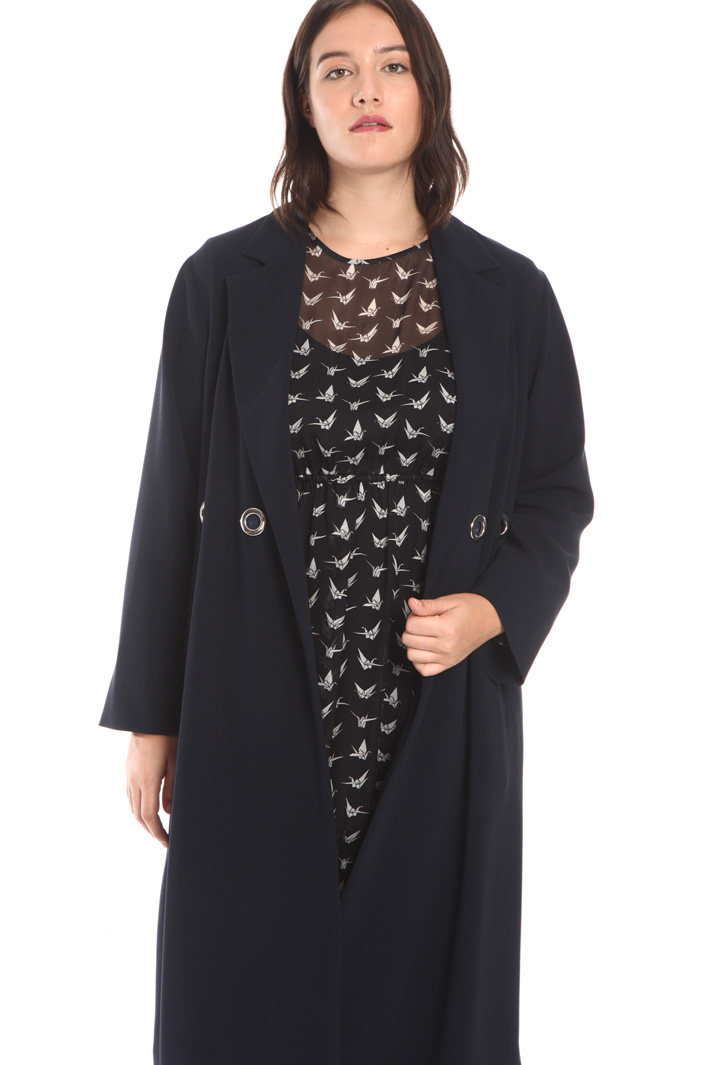 Straight duster coat Intrend