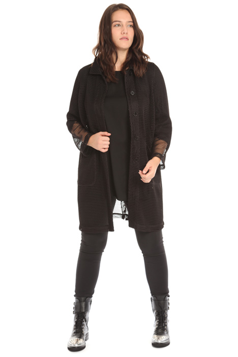 Mesh duster coat Intrend