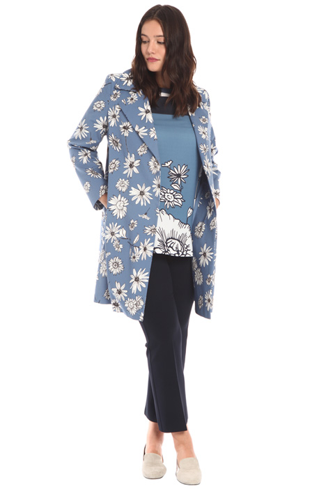 Faille duster coat Intrend