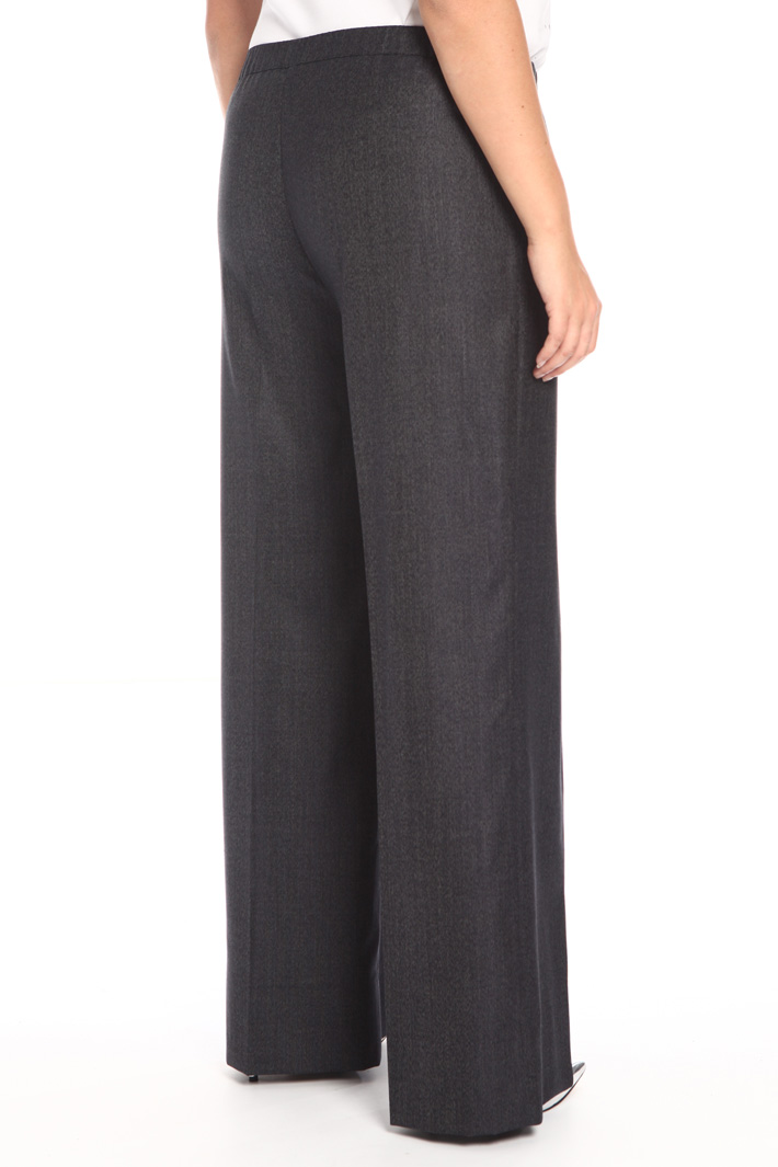 Wool and silk trousers Intrend